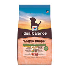 Hill's Ideal Balance Large Breed Natural Chicken and Brown Rice Recipe Mature Ad
