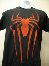 Red Spider Man Logo T-Shirt Marvel Comic Mens Tee S-2XL