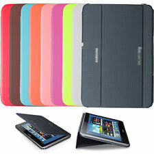BOOK COVER SAMSUNG GALAXY NOTE 10.1 2014 P601 P600 SLIM CASE HARD SHELL STAND