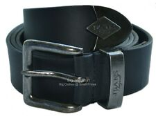 Big Mens Black King Jeans Belt ( Tipped)(NOT BONDED) Size 44 to 70 inches waist