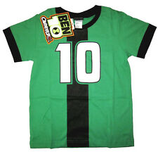 BEN 10 OMNIVERSE Boys cotton summer t-shirt Size 6,8,10,12 Age 3-9 yrs Free Ship