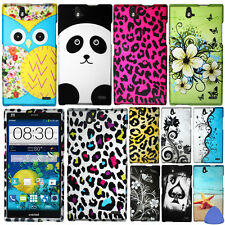 Hard Protector Case Cover For ZTE Grand X Max Z787 Phone, Vines/ Owl/ Bear +Tool