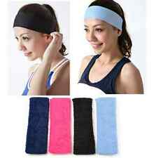 4 Colors Soft Stretchy Sweat Bands Ladies/Mens Yoga Sports Headband Hairband