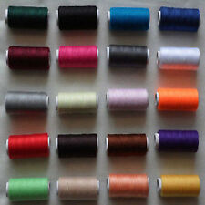 2pcs Sewing machine line 100% polyester thread 218M each spool 21 color choices