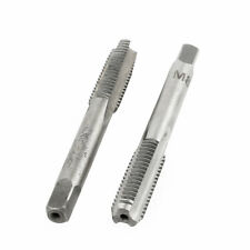 2 Pcs M8x23mm HSS 3 Flutes Hand Screw Thread Straight Metric Taps
