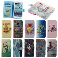 E-ZONE / For Samsung Galaxy SIII S3 i9300 Purse Wallet Leather Stand Case Cover