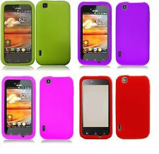 Soft Silicone Gel Skin Cover Case for LG Mytouch (2011) LG Maxx Touch E739 Phone