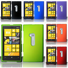 Colorful Rubberized Hard Snap On Cover Case for Nokia Lumia 920 AT&T w/Screen
