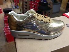 """Womens Nike AIR MAX 1 SP """"LIQUID GOLD"""" Limited Edition  (New)"""
