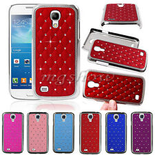 New Bling Rhinestone Crystal Diamond Hard Back Case Cover For Samsung S3 S4 Mini