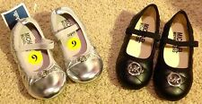 BRAND NEW Silver MICHAEL KORS Ballet Shoes Flats Size 9 AUTHENTIC NWT