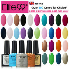 Elite99 Shellac Soak Off UV LED Color Gel Polish Nail Art Beauty Top Coat Primer