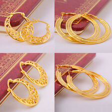 wholesale Flawless 14K gold Filled Womens wedding Party earring Fashion Jewelry