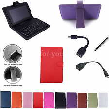 """7"""" Keyboard Leather Case+Pen For 8"""" Acer Iconia Tab 8 W W1-810 Windows 8.1 Table"""