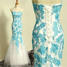 261F New Women's Formal Wedding Prom Party Bridesmaid Evening Ball Gown Dress