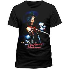 A Nightmare On Elm Street: Turkish Poster Men's T-Shirt Clothing New & Official