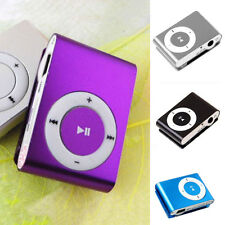 Music Media Player Mini Clip Metal USB MP3 Support Micro SD TF