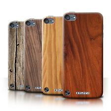 STUFF4 Back Case/Cover/Skin for Apple iPod Touch 5/Wood Grain Effect/Pattern