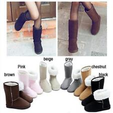 Fashion Women Winter Snow Boots Warm Ankle Boots Winter Shoes Flat Shoes 6Colors