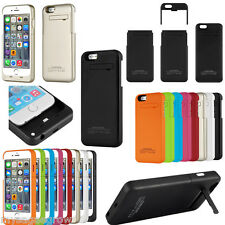 For iPhone 6 3200mAh 6 plus 4800mah External Li-Po Battery Case backup charger