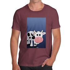 Twisted Envy Men's Fat Cow 100% Organic Cotton T-Shirt