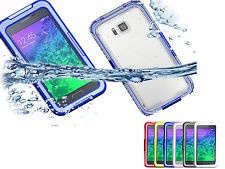 Waterproof Shockproof PC Silicone Cover Case For Samsung Galaxy Alpha SM-G850