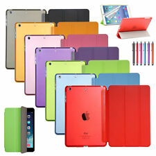 Ultra Slim Smart Cover PU Leather Case Stand For Apple iPad 4 3 2 Mini iPad Air