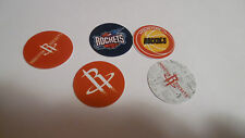 Pre Cut One Inch Bottle Cap Images! HOUSTON ROCKETS with Free Shipping