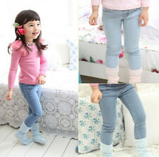 Hot New Popular Kids Toddler Clothes Girls Jeans Style Trousers Pants Sz3-8Y