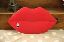 3D Cute Funny Red Sexy Lips Soft Silicone Case Cover Skin For iPhone 6