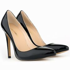 Wowen's Pattern HIGH HEEL POINTED CORSET STYLE WORK PUMPS COURT SHOES Size 5-10