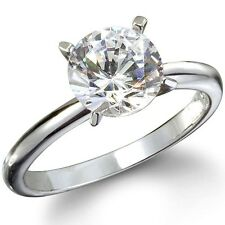 2.05CTW BRILLIANT STONE ENGAGEMENT SOLITAIRE RING size 6,9,10