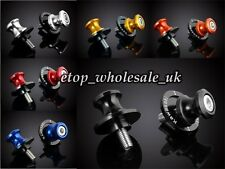 6 Color 10mm CNC Swingarm Sliders Spools For ZX6R 9R 10R 12R ZZR600 1100 1200