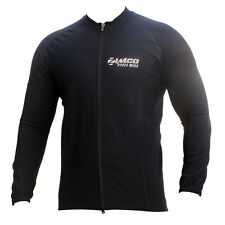 Zimco 2013 Winter Cycling Thermal Super Roubiax Cycling Jersey/Jacket Black 888
