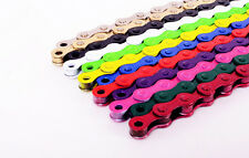 "Cadena de Bicicleta Ruta MTB BMX Power Chain Fixie Fixed Gear Cadena 1/2""x1/8"""
