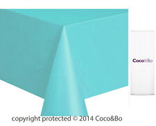 Coco&Bo Breakfast at Tiffany's Teal Tablecover Disposable Party Table Decoration