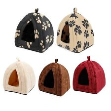 Pet House Igloo Dog Bed Cat Soft House Kennel Puppy Dog Kennel Igloo House Bed