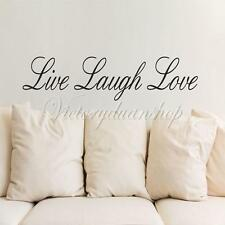 """16Color """"Live Laugh Love"""" Wall Sticker Decal Removable Art Decor Home Quote Gift"""