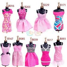 Kid Child Fashion Evening Dresses Clothes for Barbie Dolls Outfit Dress Set Gift