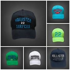 Hollister by Abercrombie Men's NWT Adjustable Cap Hat Snapback One Size Fits All
