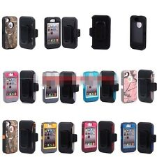 Defender Case Build in screen protector w/Belt Clip for Apple iPhone 4 /4S 5/5s