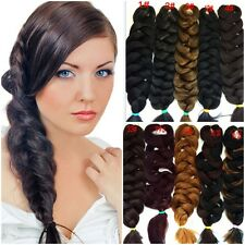 New Womens High Quality Hair Extensions Piece Twisted Braid Pigtail Ponytails