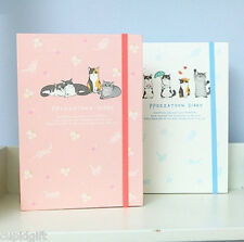 Ppozzatoon Diary Cute Planner Scheduler Journal Agenda Organizer Decor Sticker