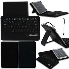 "Bluetooth Keyboard Stand Case Cover For 7"" 8"" 8.4"" IOS Android Windows Tablet PC"
