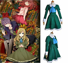 Free Ship IB Mary and Garry Game Mary Uniform Cosplay Costume Dress XS-XL