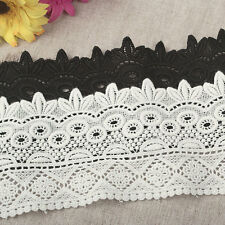 """3.5""""*1yard Ethnic style delicate embroidered lace trim for clothes crafts DIY"""