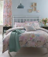 Vintage Collage Duvet Quilt Cover Set With Pillowcases, Single Double King Size
