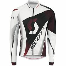 Scott Langarm Trikot RC Pro Shirt white/red 2014