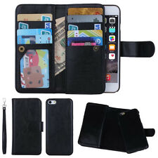 Retro Style Flip PU Leather Wallet Case Cover For Apple & Samsung Various Phone