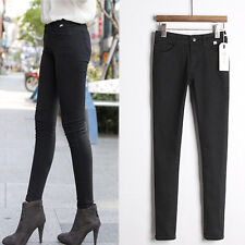 Women Stretch Pencil Pencil Pants Casual Slim Fit Skinny Jeans Denim Trousers